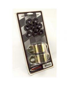 Frt Swaybar Bushing Kit Blk15/16-In; 76-86 CJ