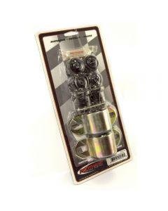 Swaybar Bushing Kit Blk 25mm; 84-01 Cherokee(XJ)