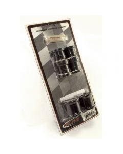 Rear Swaybar Bushing Kit Blk 13mm; 97-06 Wrangler