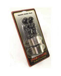 Frt Swaybar Bushing Kit Blk 7/8-In; 84-01 CherokeeX
