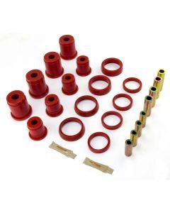 Control Arm Bushing Kit Frt Red; 93-98 G. Cherokee