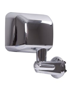 Door Mirror, Chrome, RH; 07-18 Jeep Wrangler JK