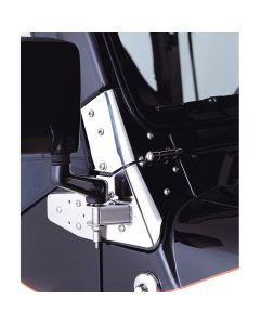 Mirror Relocation Brackets SS; 97-06 Wrangler