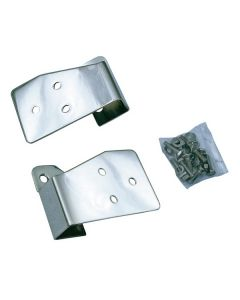 Mirror Relocation Brackets SS; 03-06 TJ/LJ Wrangler