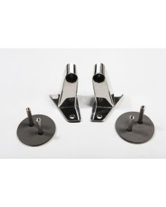 Mirror Relocation Brackets SS; 07-18 JK