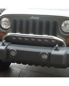 Bumper Mounted Light Bar; SS, 07-18 JK