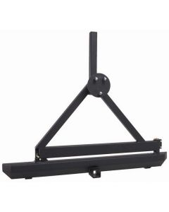 Rock Crawler Rear Bumper Hitch&Tire Carrier 87-06