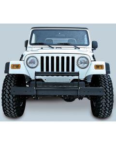Brush Guard, Gloss Black, 97-06 Jeep Wrangler