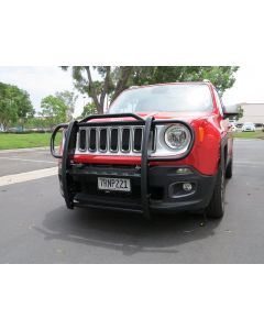 Grille Guard, Black; 15-18 Jeep Renegade