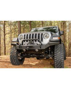 HD Bumper, Full Width, Front; 07-18 JK, 18-19 JL, 2020 JT