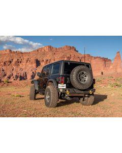 HD Bumper, Rear; 18-19 JL
