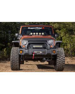 Spartacus Stubby Bumper, Blk, 07-18 Jeep Wrangler