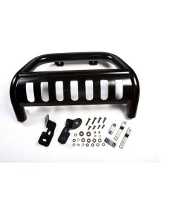3-Inch Bull Bar, Black, 10-18 Jeep Wrangler JK
