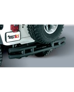 3-Inch Double Tube Rear Bumper, 55-86 CJ Models