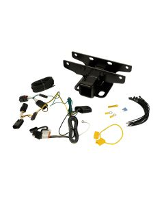 Receiver Hitch Kit w/ Wiring Harness; 18-19 JL