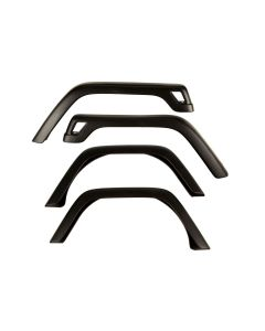 4-Piece Fender Flare Kit; 97-06 Jeep Wrangler