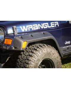 4-Piece Fender Flare Kit, 4.75-In, 97-06 Wrangler