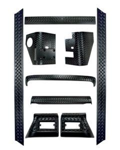 9-Piece Full Body Armor Kit, 97-06 Wrangler TJ