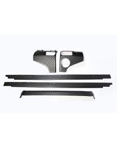 5-Piece Body Armor Kit, 4-Door 07-18 Wrangler