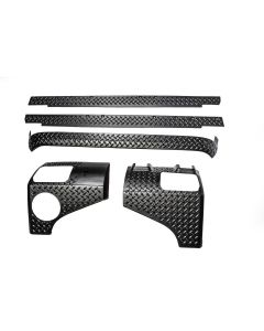 5-Piece Body Armor Kit, 2-Door 07-18 Wrangler