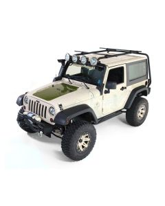 Sherpa Roof Rack Kit, 2-Door, 07-18 Jeep Wrangler