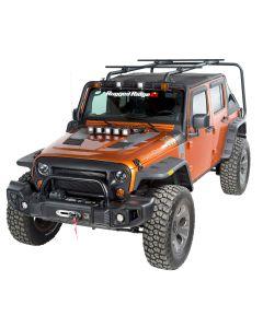 Sherpa Roof Rack Kit, 4-Door, 07-18 Jeep Wrangler