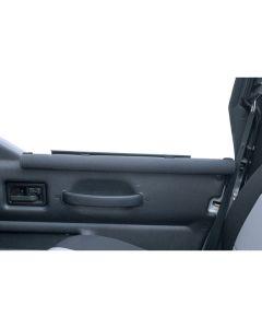 Half Door Arm Rests, Black, 87-06 Jeep Wrangler