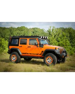Side Decals, Pair, Rugged Ridge, 07-18 Wrangler