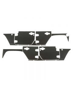 Magnetic Protection Panel kit, 4-Dr,07-18 Wrangler
