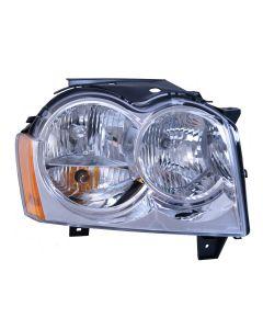 Right Headlight Assembly 05-10 Grand Cherokee (WK)