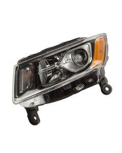 Headlight Assembly, Left; 14-16 Jeep Cherokee