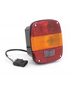 Tail Light, Export, 97-06 Jeep Wrangler TJ