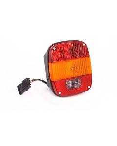 Tail Light, Export, L=R, 87-95 Jeep Wrangler