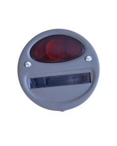 Left Tail Light Assy With Lens, 41-45 Willys MB