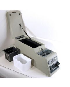 Ultimate Locking Console Gray 76-95 CJ & Wrangler