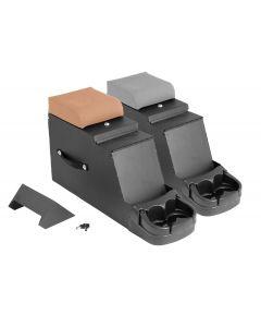 Stereo Security Console, Gray, 76-95 CJ & Wrangler