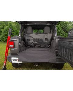 C3 Cargo Cover; 2018-19 Jeep Wrangler JL, 4 Door