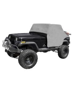 Cab Cover, Gray, 87-91 Jeep Wrangler YJ