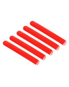 Door Handle Inserts, Red, 07-18 Wrangler JK, 4Door
