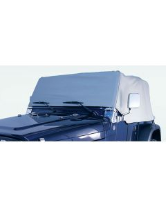 Cab Cover, Gray, 76-86 Jeep CJ7