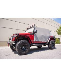 Cab Cover, Gray, 07-18 Jeep 4-Door Wrangler JK