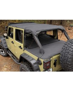 Montana Pocket Island Topper, Blk; 10-18 JK 4 Door