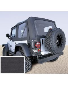 S-Top Door Skins Blk Clear Windows 97-02(TJ)