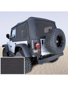 Soft Top, Blk, Tinted Windows, 97-02 Wrangler TJ