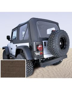 S-Top Door Skins Khaki Clear Windows 03-06(TJ)