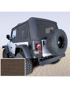Soft Top Khaki Tinted Windows 03-06 Wrangler TJ