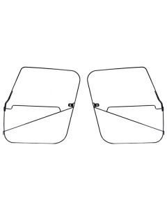 Soft Top Full Door Frames, 76-86 Jeep CJ-7 & CJ-8