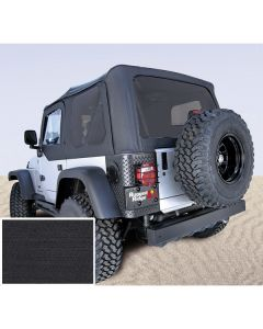 XHD Soft Top Blk Tinted Window 97-06 Wrangler TJ