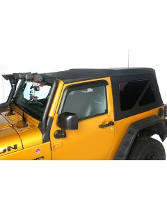 Sailcloth Soft Top, Black Diamond, 10-18 2-Door JK