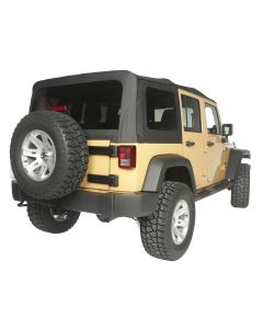 Replacement Top, Black Diamond, 10-18 4-Door JK